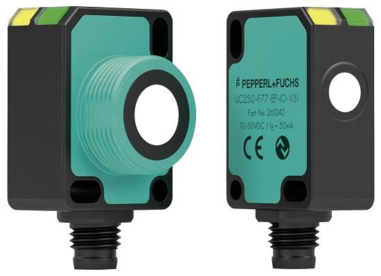 Foto de Sensores ultrasónicos con IO-Link