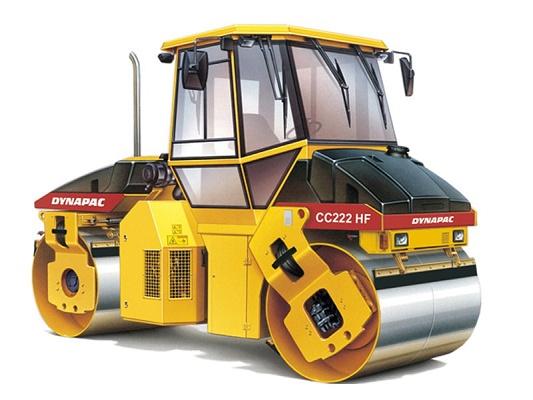Foto de Compactadores doble vibrante para asfalto en alquiler