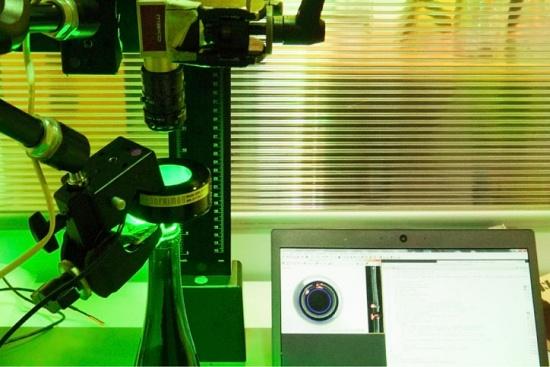 Foto de Led verdes en aplicaciones de visión artificial