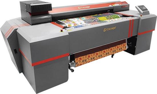 Foto de Impresora textil directo a tela. secado por infrarrojos