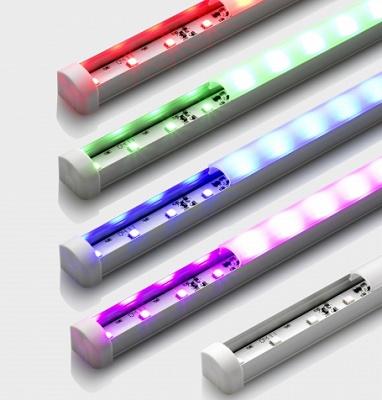 Foto de Iluminación lineal de color de dimensiones reducidas