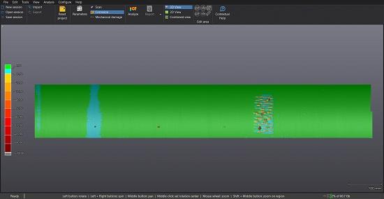 Foto de Software de inspección de tuberías en END