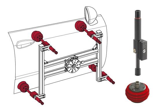 Foto de Sistemas de prensión en máquinas de inyección de plásticos