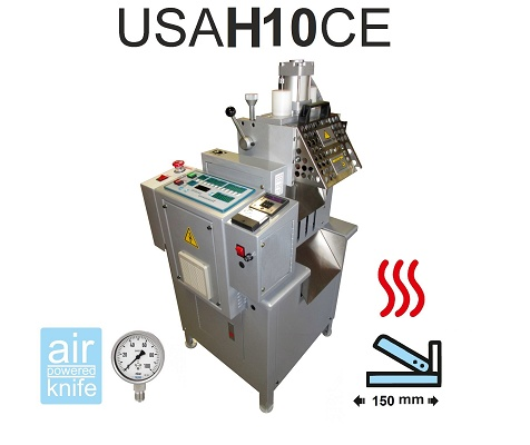 Foto de Máquina de cortar cintas en frío y caliente