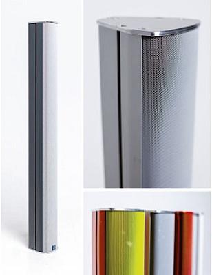Foto de Columnas acústicas activas con haz acústico direccionable