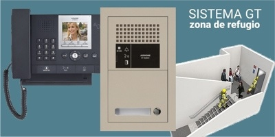 Foto de Sistemas GT de Aiphone para zonas de refugio