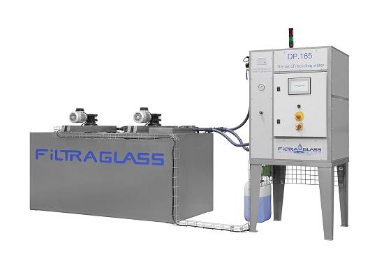 Foto de Sistemas de filtración de agua para la industria del vidrio