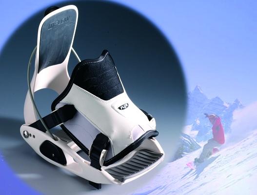 """Foto de """"Nuevos anclajes para la tabla de snowboard de Flow"""""""