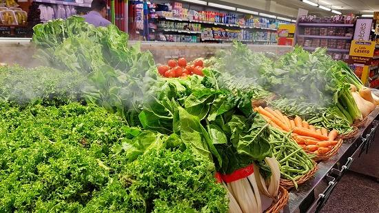 Foto de Nebulización frutas y verduras