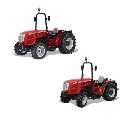 Foto de Tractores plataforma especialista de cultivo en hileras
