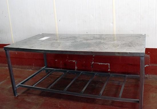 Foto de Mesa de elaboración de acero inoxidable