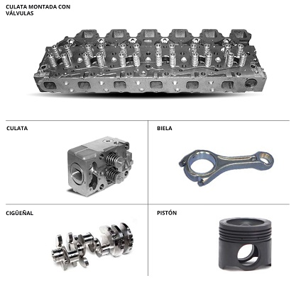 Foto de Repuestos para motores diésel