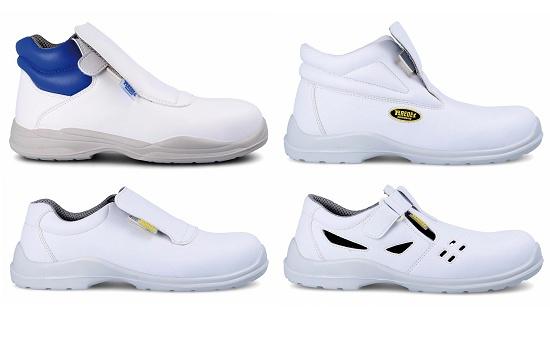 Foto de Línea blanca de calzado de seguridad