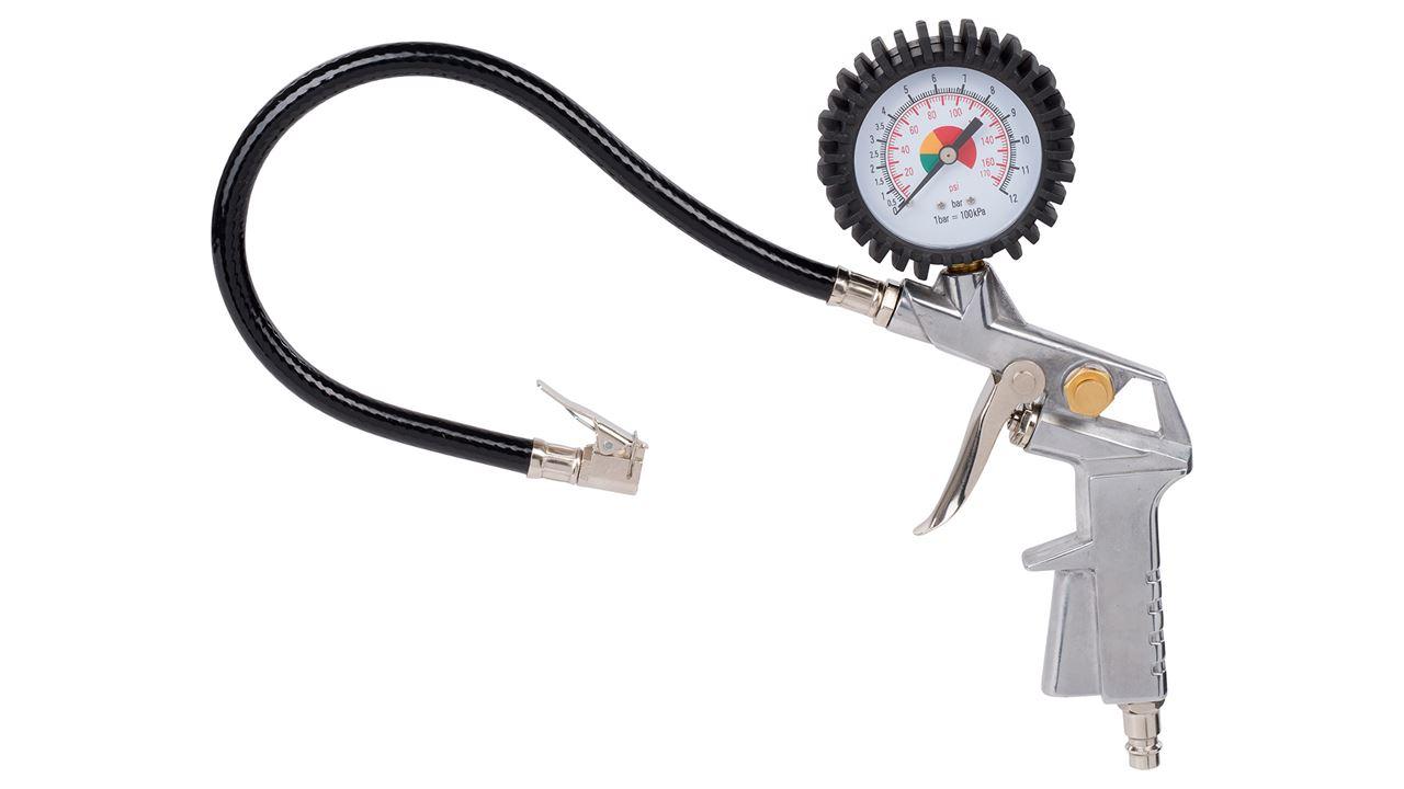 Foto de Pistola de hinchado con manómetro