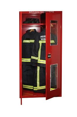 Foto de Armarios para trajes de bomberos