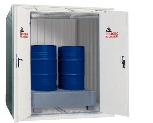 Foto de Casetas de seguridad para almacenaje de productos peligrosos