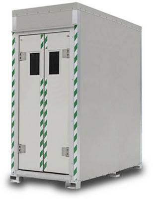 Foto de Cabina de descontaminación por chorros de aire