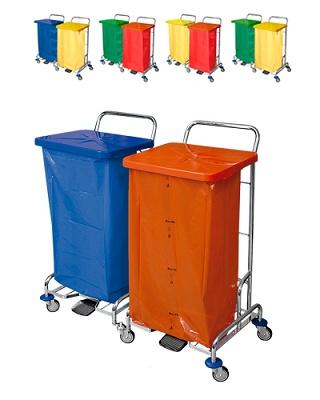 Foto de Carros recogida selectiva de residuos
