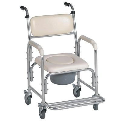 Foto de Sillas de baño con inodoro y ruedas