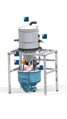 Foto de Tolvas modulares para dosificación