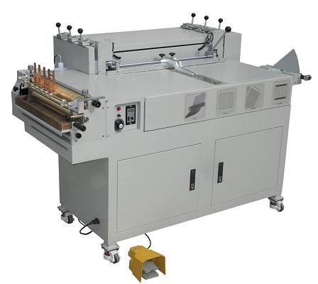 Foto de Máquinas de forrar tapas semiautomáticas