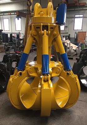 Foto de Pulpos hidráulicos de cilindros verticales