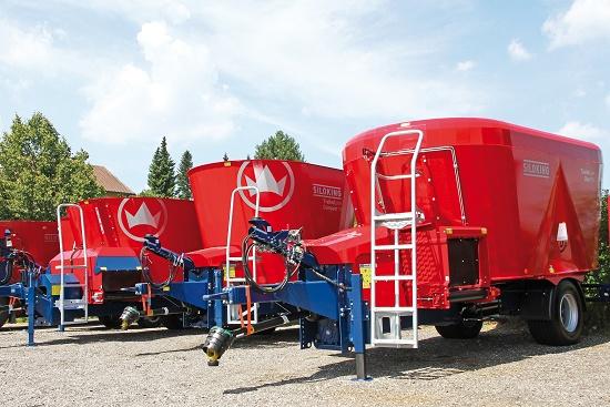 Foto de Carros mezcladores verticales arrastrados