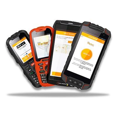 Foto de Dispositivos móviles para zonas ATEX