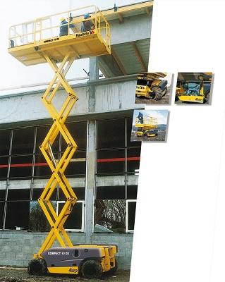 Foto de Alquiler de plataformas tijera diésel
