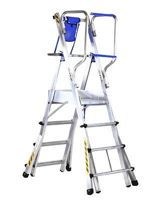 Foto de Escaleras telescópicas de aluminio
