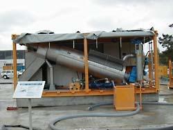 Foto de Instalación de drenaje de lodo