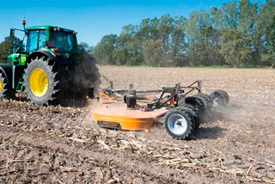 Foto de Trituradoras de restos de cosecha