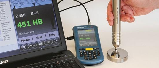 Foto de Durómetros portátiles de medición de huella por ultrasonidos