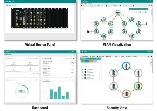 Foto de Software de gestión de redes industriales