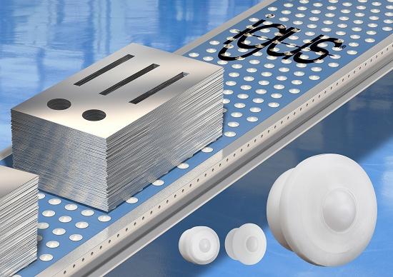 Foto de Bolas de transporte de polímeros avanzados para cintas transportadoras