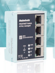 Foto de Switch gestionado Profinet de 4 puertos