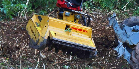 Foto de Trituradora forestal para excavadoras