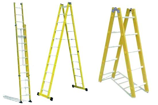 Escaleras de fibra maquinaria y equipos para for Construccion de escaleras