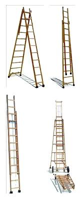 Escaleras de madera maquinaria y equipos para for Escaleras de madera para construccion