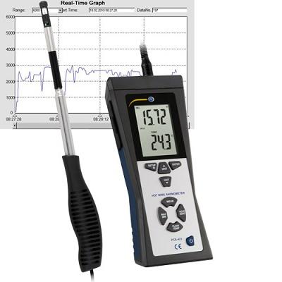 Foto de Anemómetros con sonda térmica