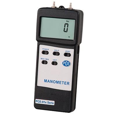 Foto de Manómetro digital con interfaz RS-232 y software opcional