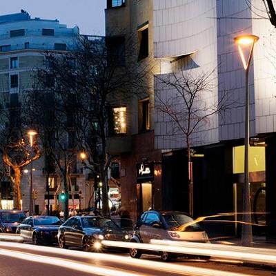 Foto de Luminaria de acero inoxidable