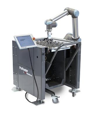 Foto de Mesa de trabajo para carga y descarga de centros de mecanizado