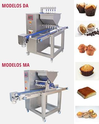 Foto de Dosificadora automática de muffins y magdalenas