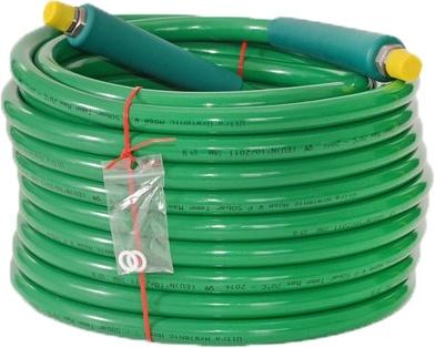 Foto de Manguera higiene industrial verde
