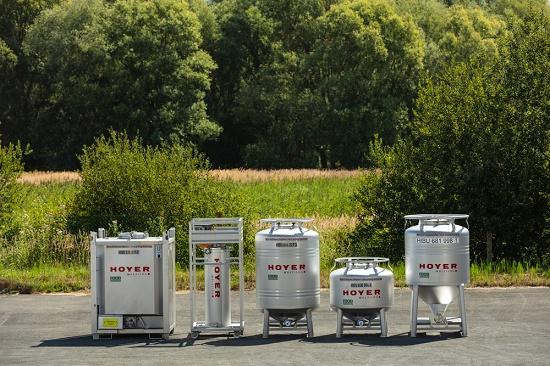 Foto de Contenedores para la industria química
