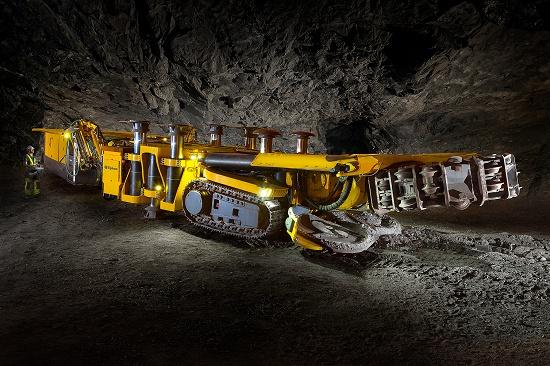 Foto de Equipos para la excavación mecánica de rocas