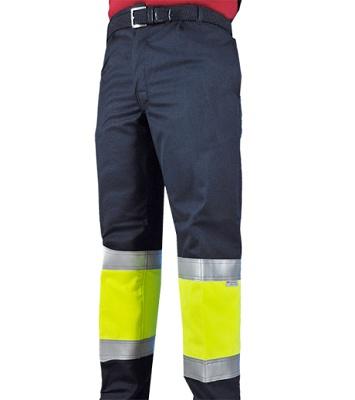 Foto de Pantalones ignífugos antiestáticos de alta visibilidad