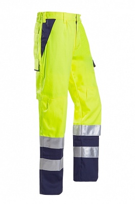Foto de Pantalones alta visibilidad protección arco eléctrico