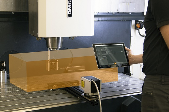 Foto de Software para aplicar la compensación volumétrica a las máquinas-herramienta